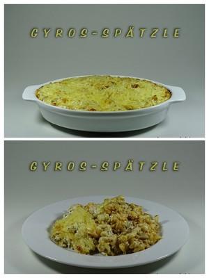 Gyros-Spätzle Rezept
