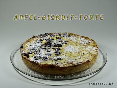 Apfel-Biskuit-Torte Rezept