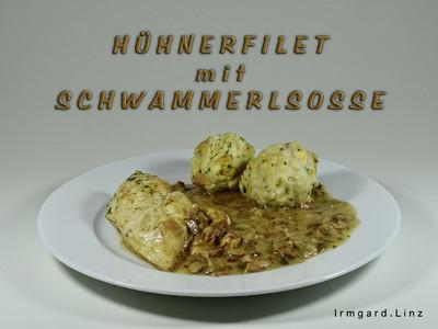 Hühnerfilet in Schwammerlsosse Rezept
