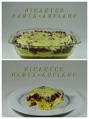 Pikanter Pasta-Auflauf Rezept
