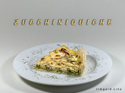 Zucchiniquiche Rezept