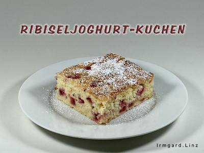 Ribiseljoghurt-Kuchen Rezept