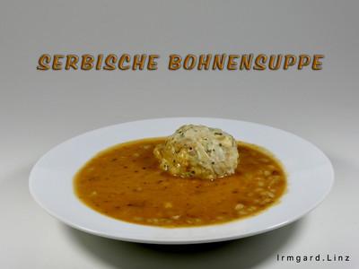 Serbische Bohnensuppe Rezept