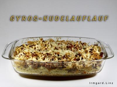 Gyros-Nudelauflauf Rezept