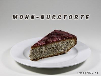 Mohn-Nusstorte Rezept