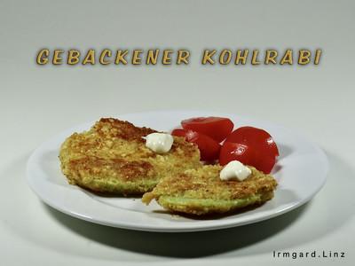 Gebackener Kohlrabi Rezept