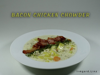 Bacon Chicken Chowder Rezept