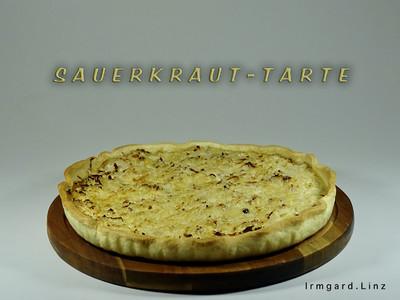 Sauerkraut-Tarte Rezept