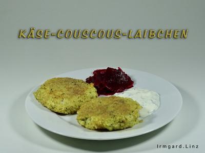 Käse-Couscous-Laibchen Rezept