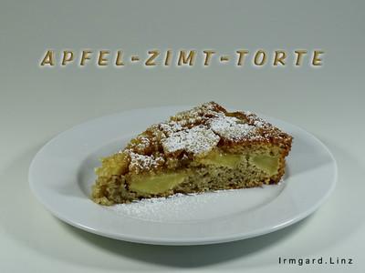 Apfel-Zimt-Torte Rezept