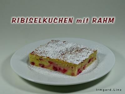 Ribiselkuchen mit Rahm Rezept