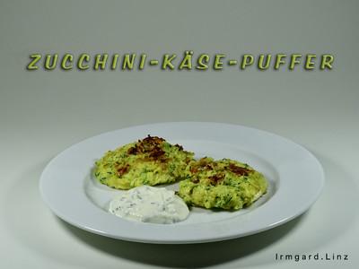 Zucchini-Käse-Puffer Rezept