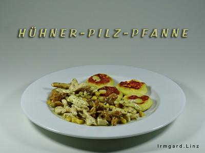 Hühner-Pilz-Pfanne Rezept