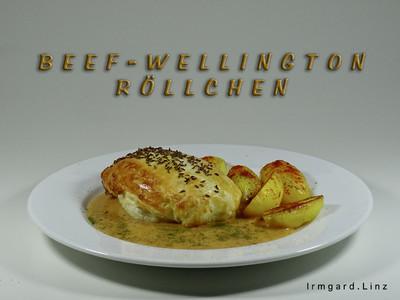 Beef-Wellington-Röllchen Rezept