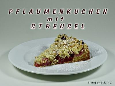 Pflaumenkuchen mit Streusel Rezept