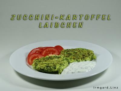 Zucchini-Kartoffel-Laibchen Rezept