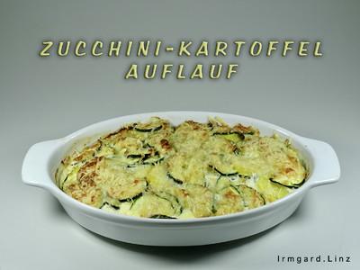 Zucchini-Kartoffel-Auflauf Rezept
