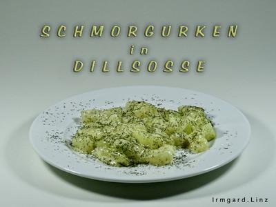Schmorgurken in Dillsosse Rezept