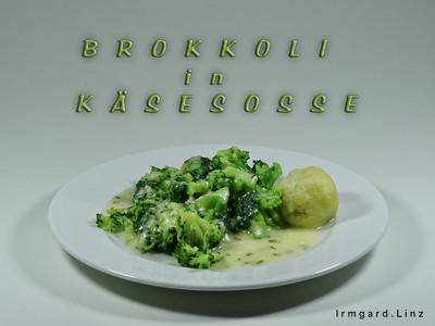 Brokkoli in Käsesosse Rezept