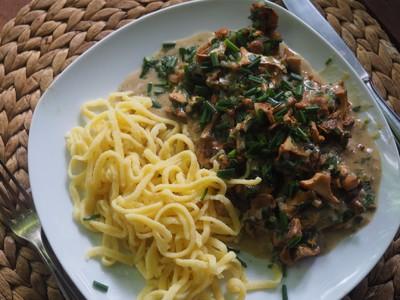 Schweinefiletmedaillons in Schwammerl-Sherry-Rahmsauce  Rezept