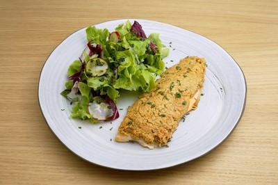Glutenfreies Festtagsmenü: Fischfilet in Mandelkruste Rezept