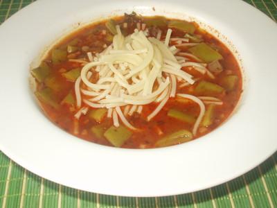 Bosnische Bohnen(Fisolen) Suppe Rezept