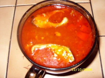 Fischsuppe à la Willi  nach Ungarnart Rezept