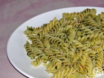 Fusilli mit Bärlauch und Chili Rezept