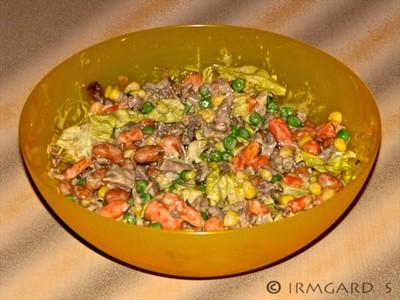 Gansl-Gemüse-Salat Rezept