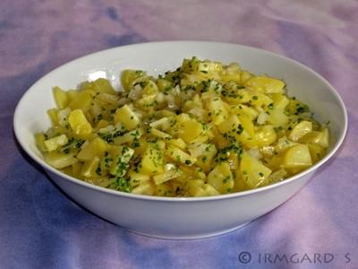 Einfacher Kartoffelsalat Rezept