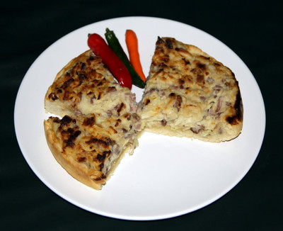 Lothringer Zwiebelkuchen Rezept