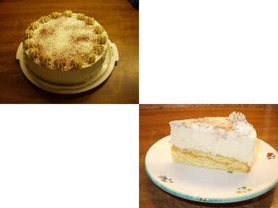 Obers-Kokos-Torte Rezept