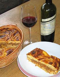 Griechischer Nudelauflauf (Pastitsjo) Rezept