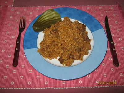 Reisfleisch & Gurkerl Rezept