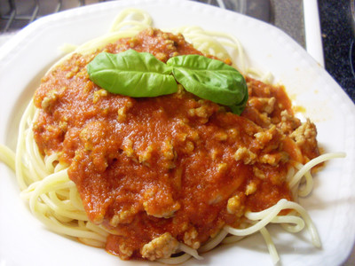 Spagetti Bolognese Rezept