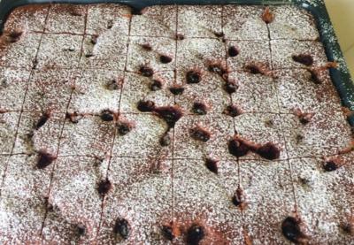 Brauner Kirschkuchen Rezept