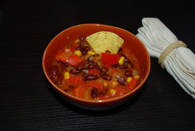 Chili con carne sin carne Rezept