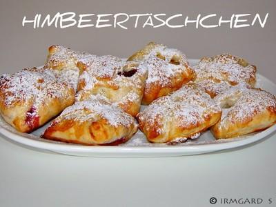 Himbeertäschchen Rezept