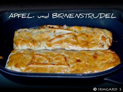 Apfel- und Birnenstrudel Rezept
