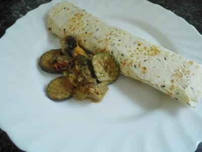 Schnelle Tortilla Wrap fleischlos  Rezept