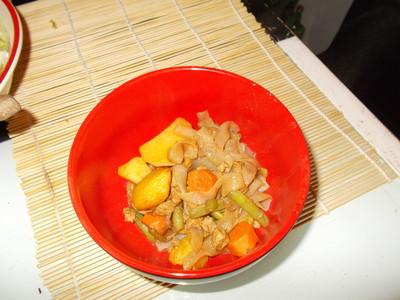 Nikujaga ( Fleisch mit Kartoffeln ) Rezept