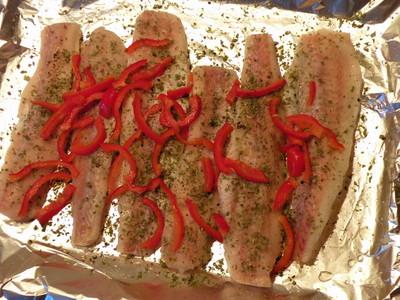 Fischfilet in der Folie Rezept
