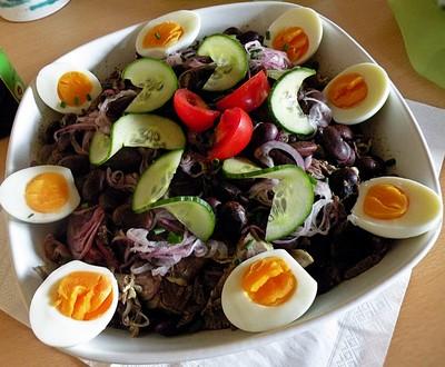 Steirischer Rindfleischsalat Rezept