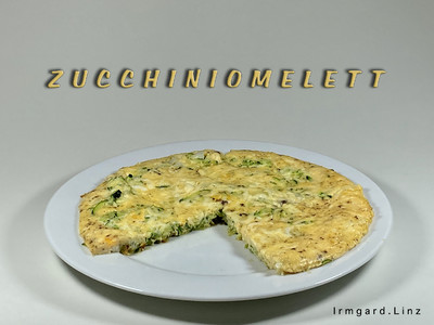 Zucchiniomelett Rezept