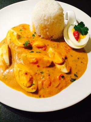 Eier - Curry Rezept