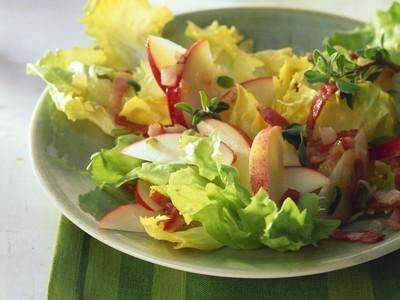 Endiviensalat mit Ananas-Apfel Currydressing Rezept