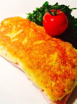 Fisch mit Kartoffel-Käse Kruste Rezept