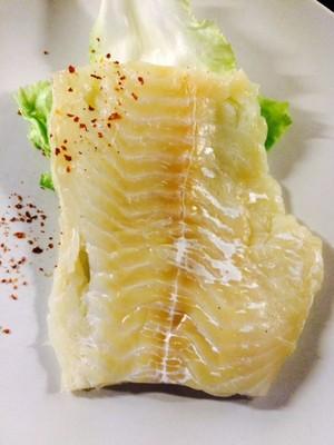 Fischfilet mit weißer Pfeffersauce Rezept