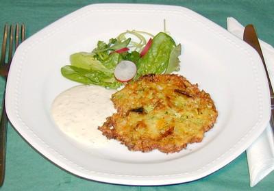 Gemüse - Käse - Laibchen Rezept