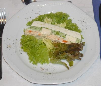Gemüseterrine mit Schafkäsekern Rezept